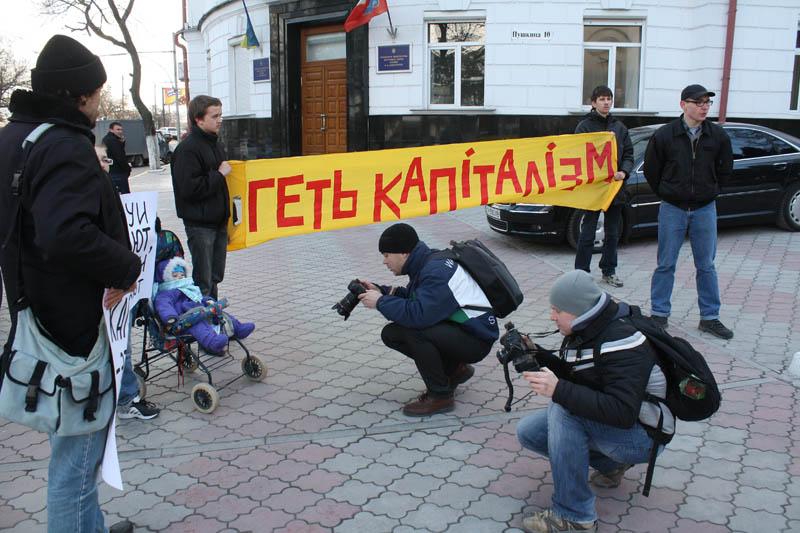 Пикет 16.03.2012 в Севастополе
