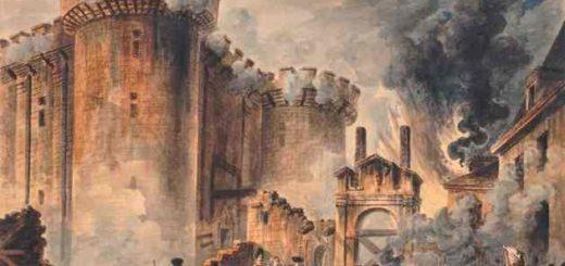"""""""Взятие Бастилии 14 июля 1789"""" художника Жан-Пьера Уэля"""