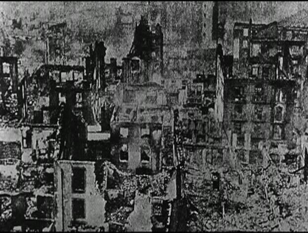 Герника после фашистской бомбардировки