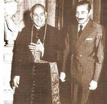 Бергольо и Хорхе Рафаэль Видела
