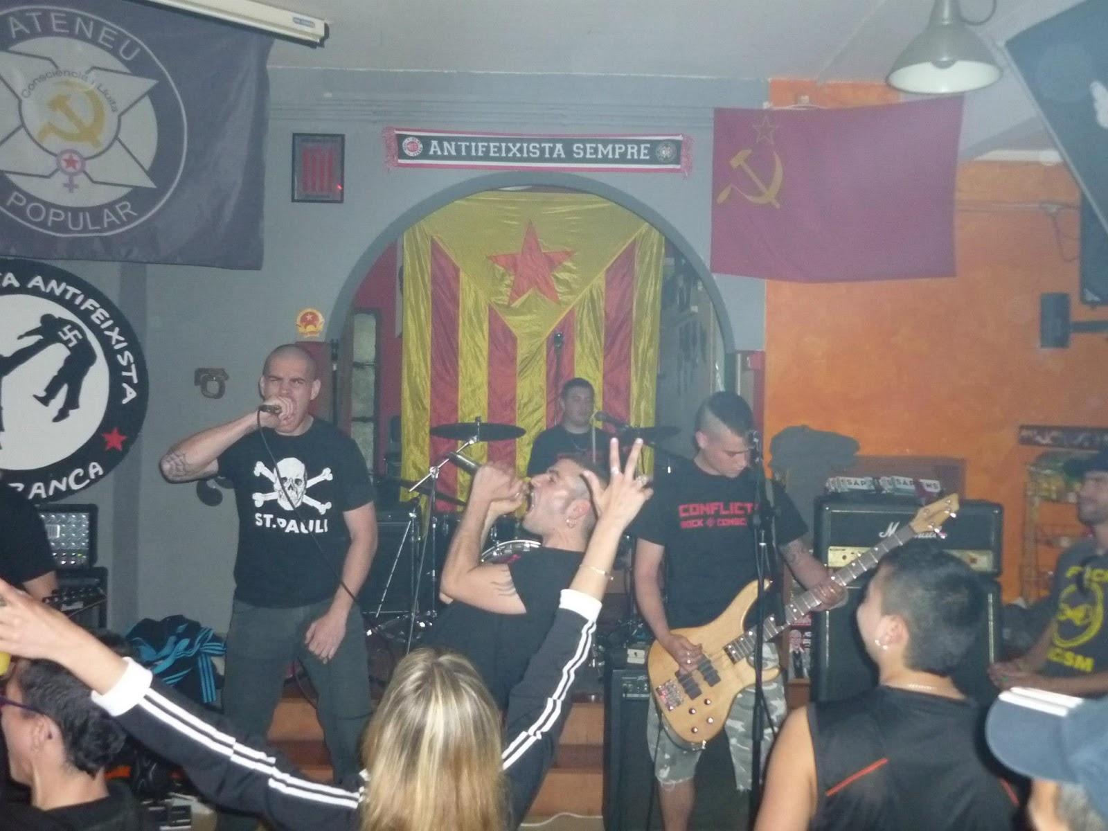 Conflicte (Rock Proletario, Каталония)