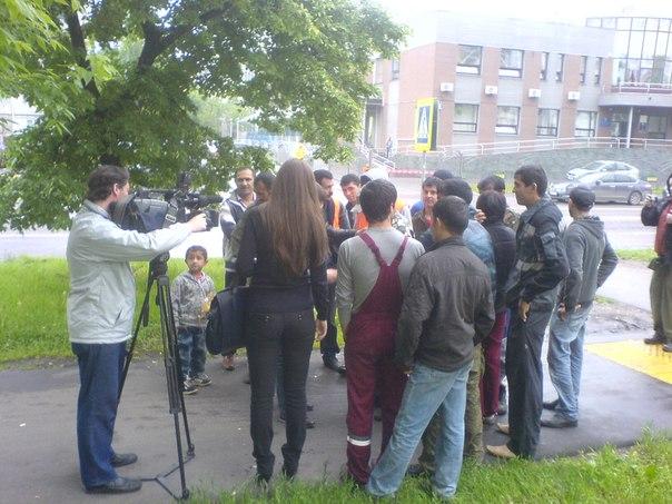 Московские дворники. борьба за зарплату