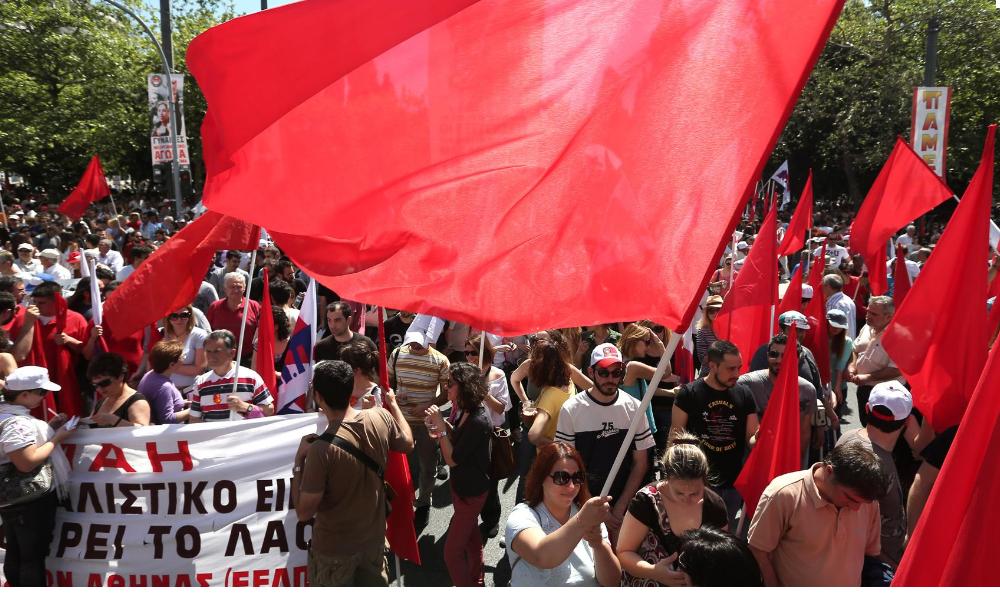 Греция: Массовые демонстрации Всерабочего боевого фронта