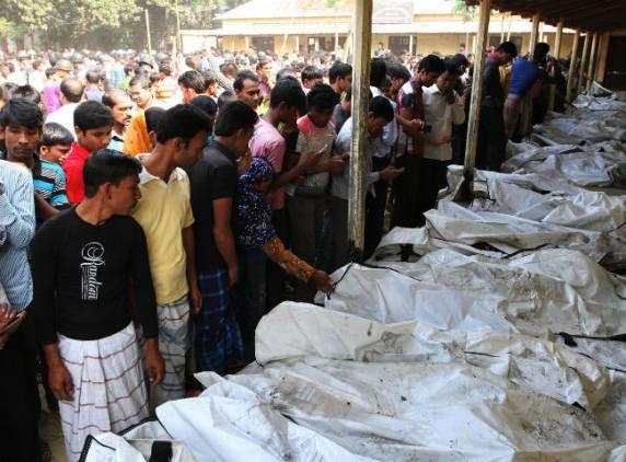 Пожар на фабрике в Бангладеш: более 100 жертв 25 ноября, 2012