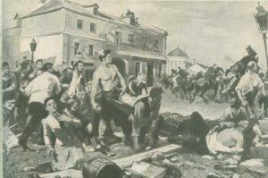Обуховская оборона. 1901. Н. Бабасюк