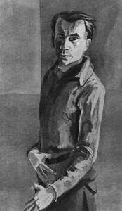 Ханс Грундиг автопортрет