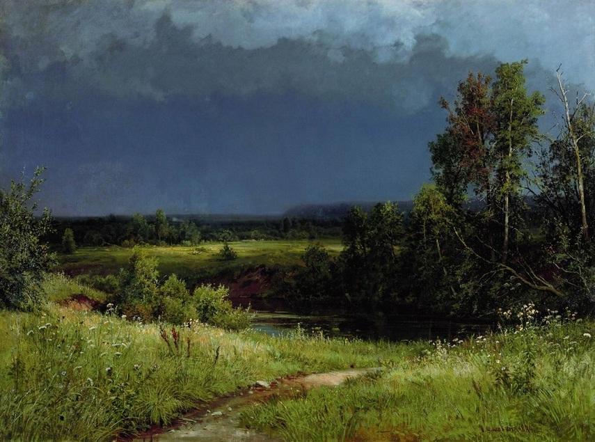И. И. Шишкин (1832-1898) Перед грозой (1884)