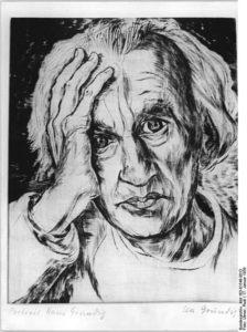 Грундиг автопортрет