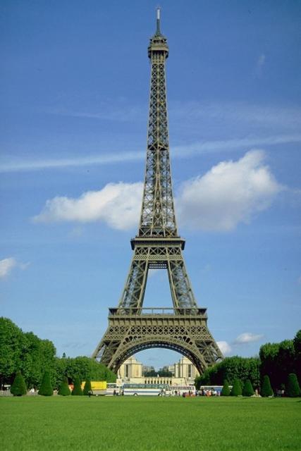 Эйфелева башня бастует