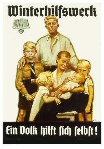 Немецкая семья плакат