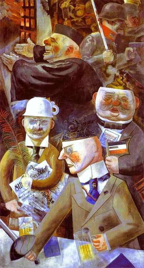 Столпы общества. Жордж Гросс (1926)
