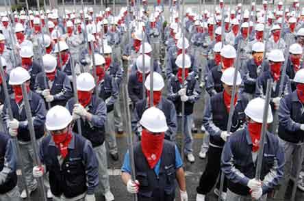 профсоюз южнокорейского gm грозит забастовкой