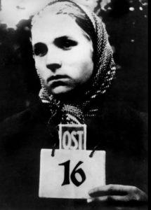 Заключённая Освенцима