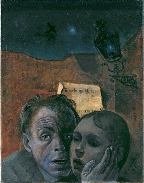 Автопортрет с Марианной 1941