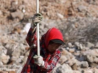 Дети рабы на стройке