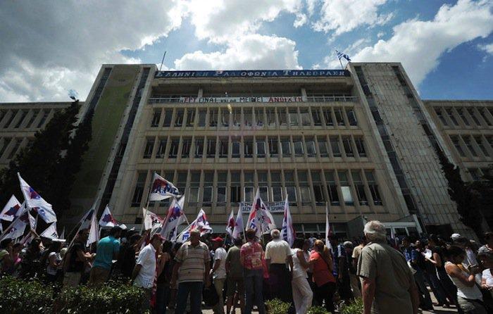 Греция 24 часовая забастовка телерадио работников