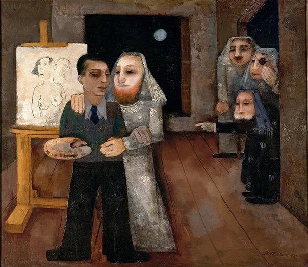 Художник в мастерской, 1931