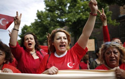 Турецкие рабочие показали российским как надо отстаивать свои права