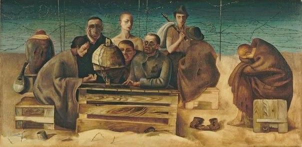 Убежище.Заключенные в Санкт-Сиприен, 1942, 1939