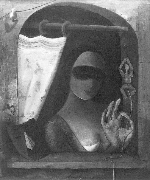 Женщина с куклой, 1940