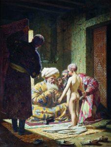 Продажа ребенка. В.В.Верещагин. 1872 г.