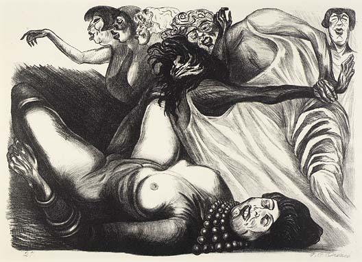 """Женщина. Эскиз к фреске """"Катарсис"""". 1935"""