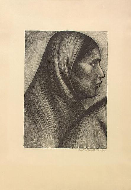 Мексиканская женщина. 1929