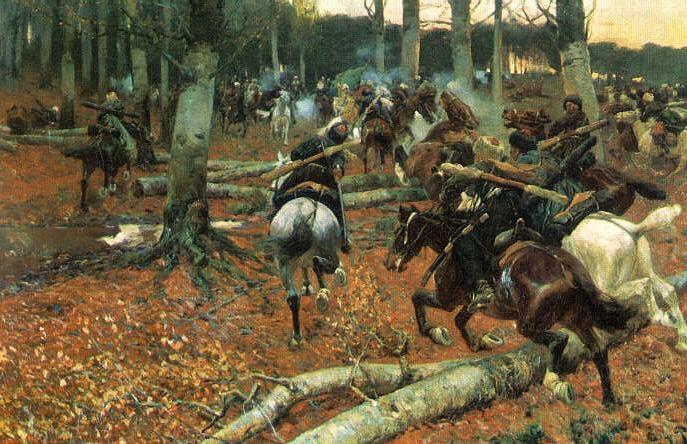 Кавказская война, Франц Рубо