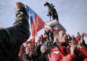 чилийские шахтёры забастовка