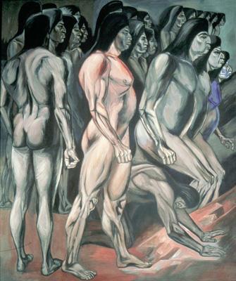Американский эпос. Миграция. Фреска. 1932-34