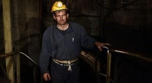 Бастующий боснийский шахтер Фото: Радио Сараево