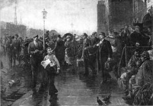 В.Кириллов.Прибытие В.И. Ленина в Ригу в апреле 1900
