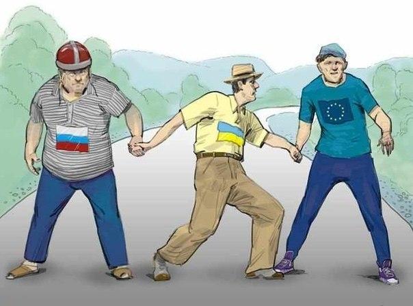 Европа, Украина, Россия