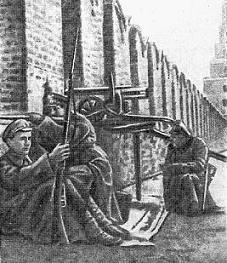 Юнкера в Московском Кремле