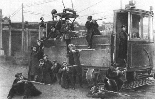 Бетонированная трамвайная платформа