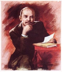 Ленин за письмом