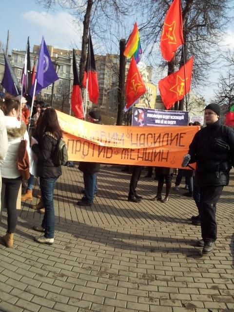 шествие 8.03.2014, Москва