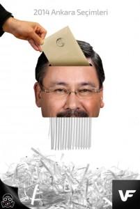 На фото губернатор Анкары Мелих Гекчек