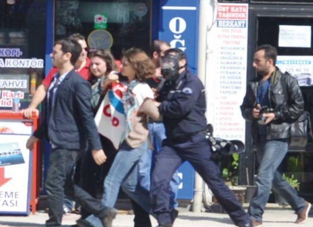 Захват митингующих против Эрдогана
