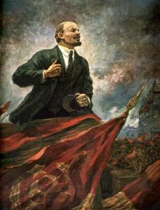 А. Герасимов. В.И.Ленин на трибуне(2)