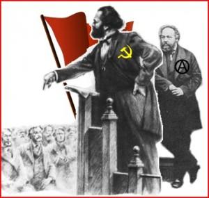 Маркс и Бакунин