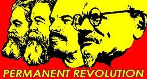 Маркс,Энгельс,Ленин,Троцкий-permanent revolution