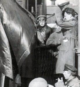1918-1920 г.,Приезд Л.Д. Троцкого на Западный фронт2