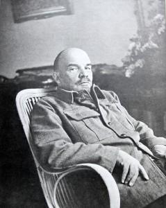 1922 г.,август-сентябрь.Горки.В.И.Ленин4