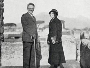 1930-1940г.,Л.Д. Троцкий с женой Натальей Ивановной Седовой