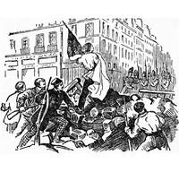 Бои на улицах Парижа, июнь 1848