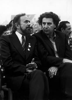 М. Теодоракис и Я. Рицос