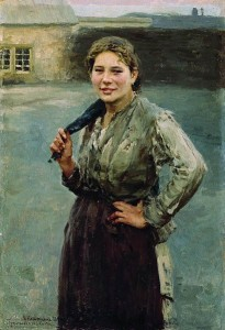 Н. А. Касаткин. Шахтёрка, 1894