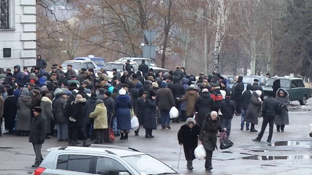 донбасс март 2015
