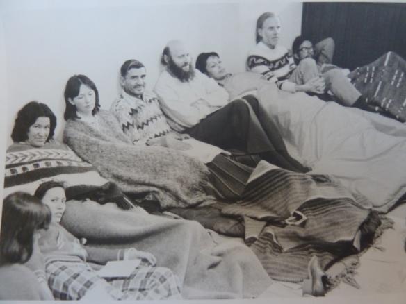 Домитила среди участников политической голодовки